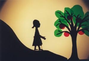 """Das Märchen von Frau Holle erzählt das Figurentheater """"spielbar"""" am Sonntag, 18. Januar, um 15.30 Uhr in der Aula der Grundschule Kommern. Bild: Tameer Gunnar Eden/Eifeler Presse Agentur/epa"""
